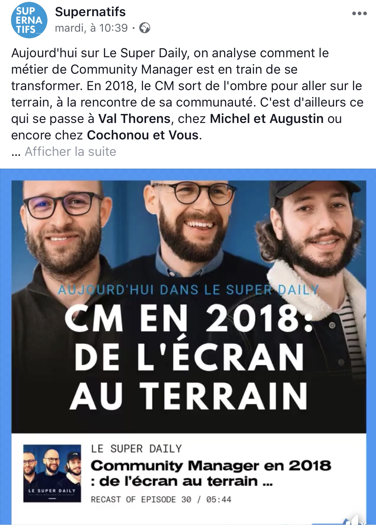 Le Super Daily Podcast Facebook 4