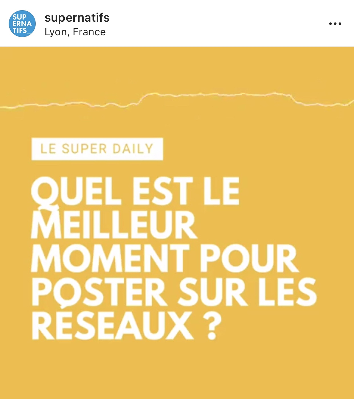 Le Super Daily Podcast Instagram 2